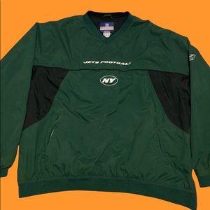 Vintage Reebok NFL New York Jets Windbreaker
